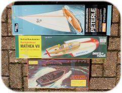 AeroNaut Vintage Boat Kits