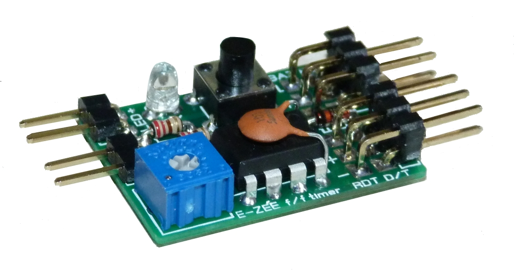 E-ZEE combined IC servo operated engine cutoff and DT Timer
