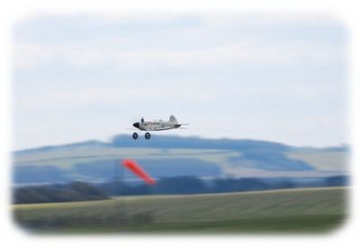 The Phat Phantom flies over Middle Wallop....without pilot?