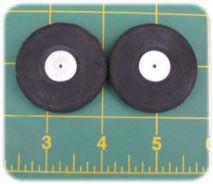 1 5/8 inch Streamline Rubber Wheels