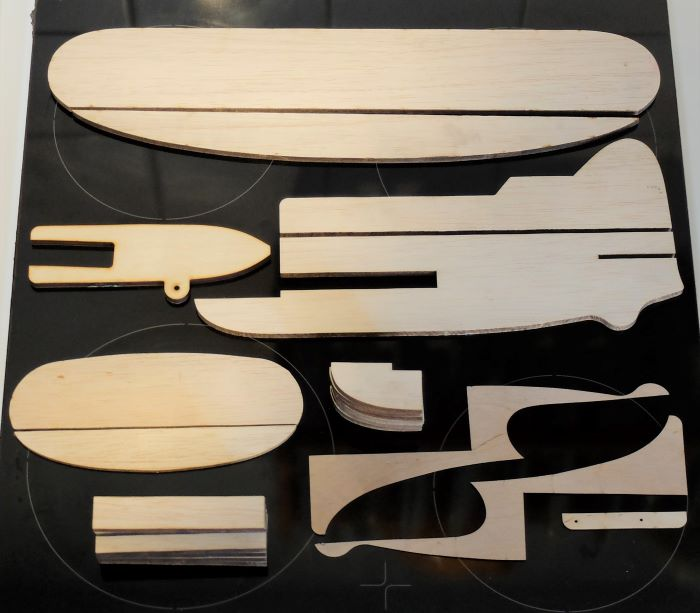 GB Trainer Wood Parts
