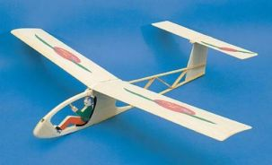 Pino 30 inch all balsa FF Glider